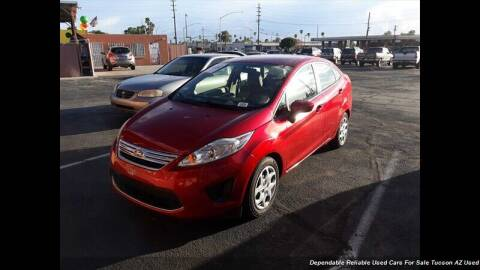 2011 Ford Fiesta for sale at Noble Motors in Tucson AZ