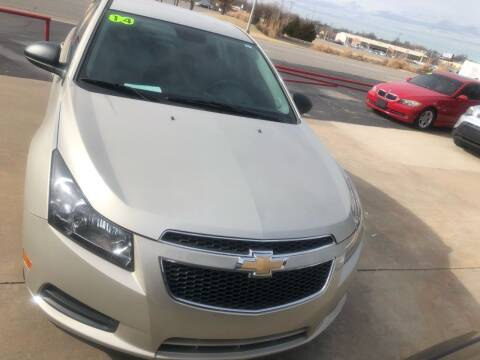2014 Chevrolet Cruze for sale at Moore Imports Auto in Moore OK
