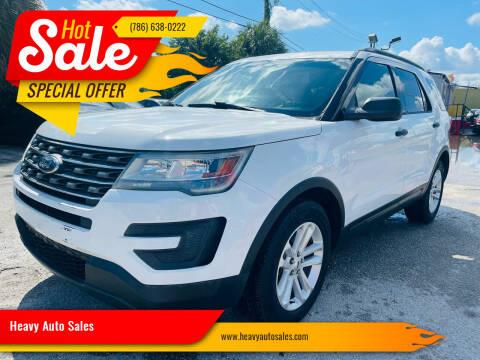 2016 Ford Explorer for sale at Heavy Auto Sales in Miami FL