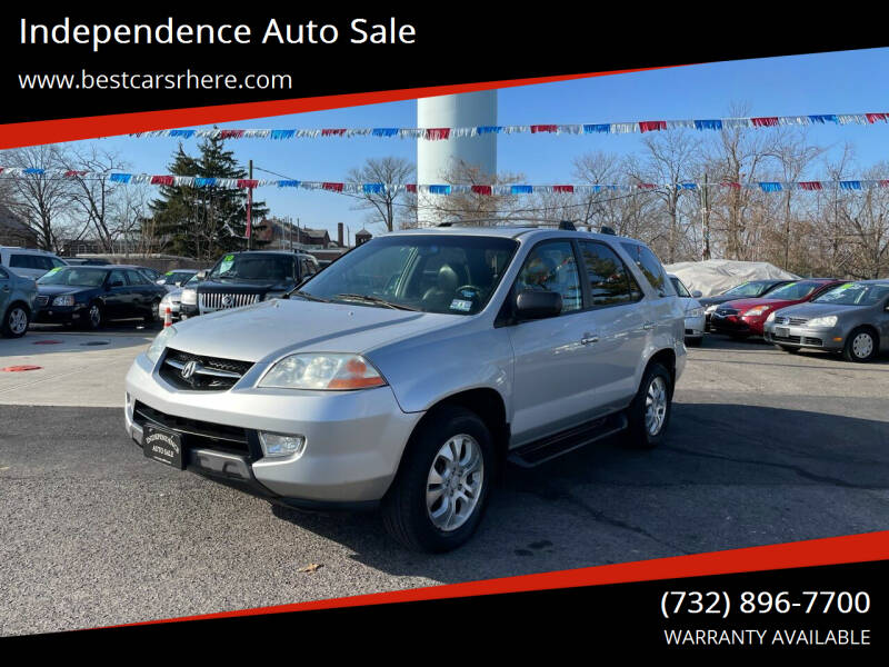 2003 Acura MDX for sale at Independence Auto Sale in Bordentown NJ