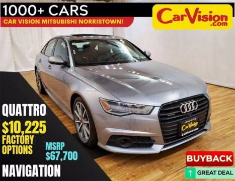 2018 Audi A6 for sale at Car Vision Buying Center in Norristown PA