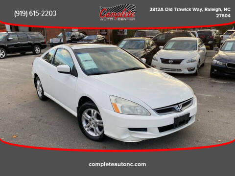 2007 Honda Accord for sale at Complete Auto Center , Inc in Raleigh NC