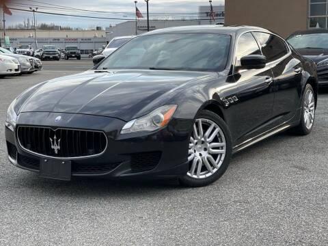 2015 Maserati Quattroporte for sale at MAGIC AUTO SALES - Magic Auto Prestige in South Hackensack NJ