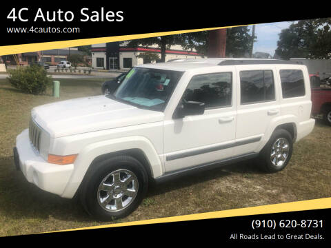 2007 Jeep Commander for sale at 4C Auto Sales in Wilmington NC