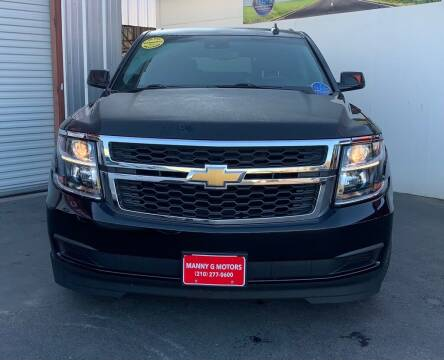 2016 Chevrolet Tahoe for sale at Manny G Motors in San Antonio TX