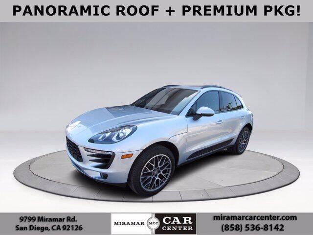 2017 Porsche Macan for sale in San Diego, CA