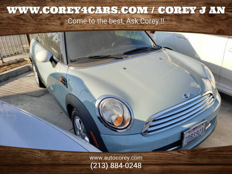2013 MINI Hardtop for sale at WWW.COREY4CARS.COM / COREY J AN in Los Angeles CA