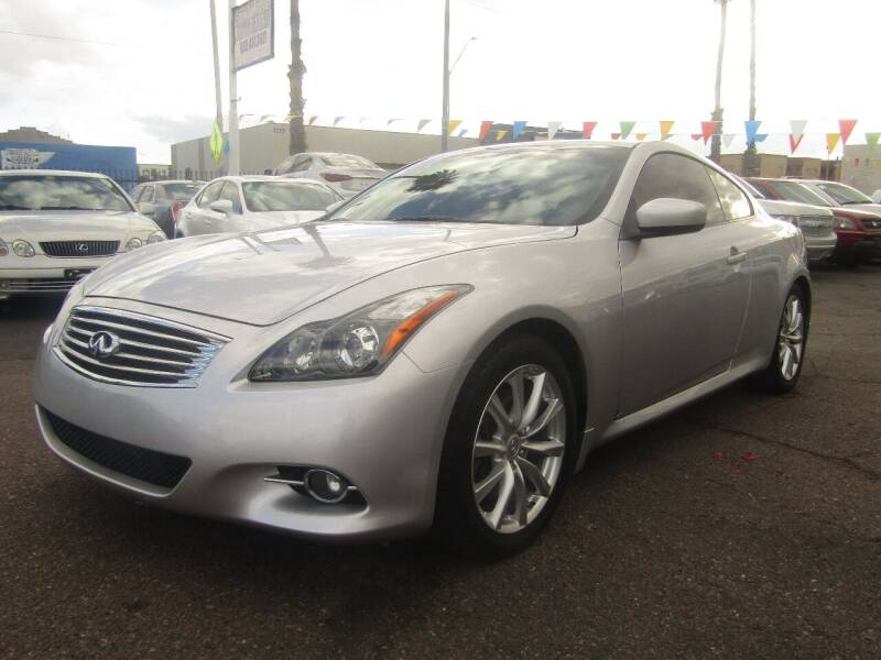 2012 Infiniti G37 Coupe for sale at More Info Skyline Auto Sales in Phoenix AZ