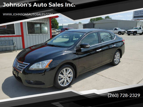 2013 Nissan Sentra for sale at Johnson's Auto Sales Inc. in Decatur IN