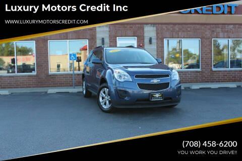 2011 Chevrolet Equinox for sale at Luxury Motors Credit Inc in Bridgeview IL