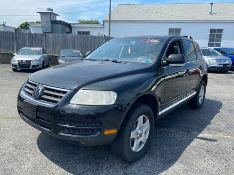 2005 Volkswagen Touareg for sale at MBM Auto Sales and Service - MBM Auto Sales/Lot B in Hyannis MA