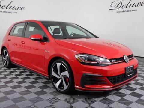 2018 Volkswagen Golf GTI for sale at DeluxeNJ.com in Linden NJ