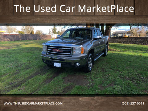 2012 GMC Sierra 1500 for sale at The Used Car MarketPlace in Newberg OR