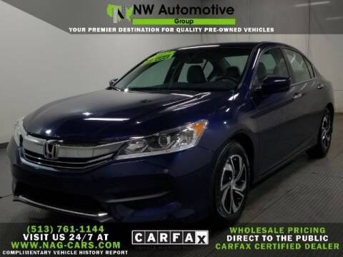 2017 Honda Accord for sale at NW Automotive Group in Cincinnati OH