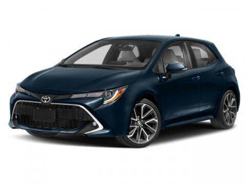 2019 Toyota Corolla Hatchback for sale at STG Auto Group in Montclair CA