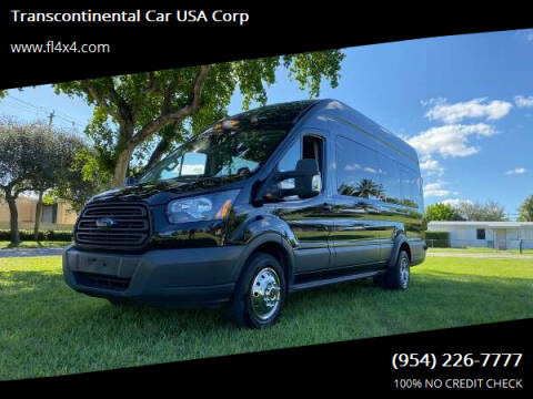 2018 Ford Transit Passenger for sale at Transcontinental Car USA Corp in Fort Lauderdale FL
