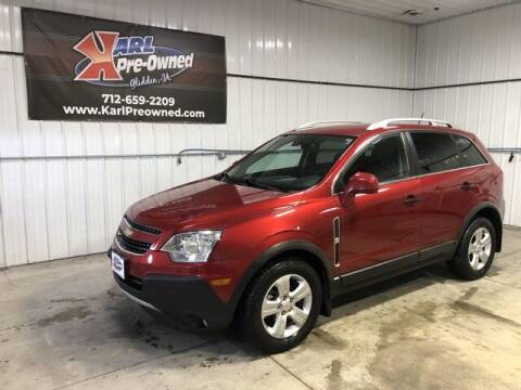 2014 Chevrolet Captiva Sport for sale at Karl Pre-Owned in Glidden IA