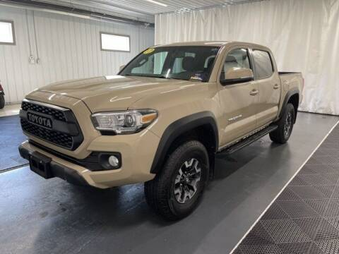 2017 Toyota Tacoma for sale at Monster Motors in Michigan Center MI
