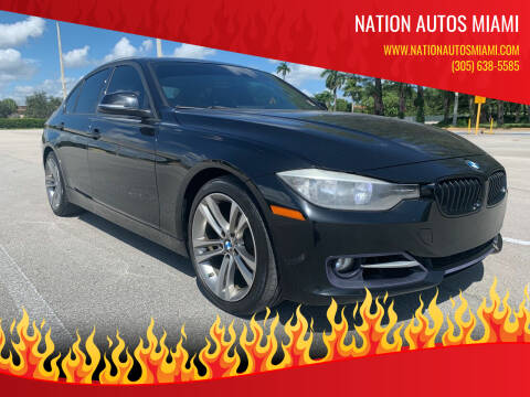 2013 BMW 3 Series for sale at Nation Autos Miami in Hialeah FL