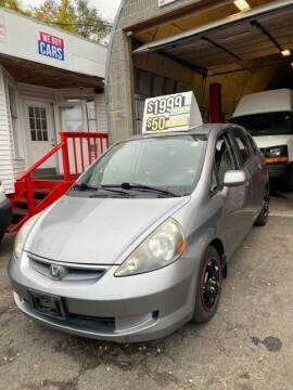 2007 Honda Fit for sale at Drive Deleon in Yonkers NY