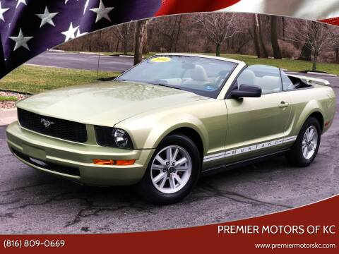 2006 Ford Mustang for sale at Premier Motors of KC in Kansas City MO