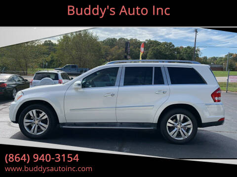 2011 Mercedes-Benz GL-Class for sale at Buddy's Auto Inc in Pendleton, SC