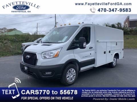 2020 Ford Transit Cutaway for sale at FAYETTEVILLEFORDFLEETSALES.COM in Fayetteville GA