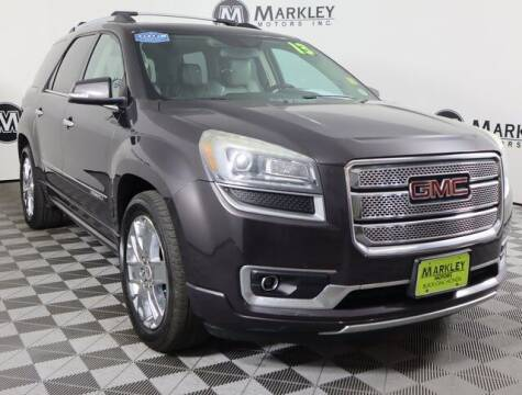 2013 GMC Acadia for sale at Markley Motors in Fort Collins CO