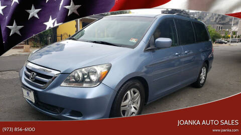 2007 Honda Odyssey for sale at JOANKA AUTO SALES in Newark NJ