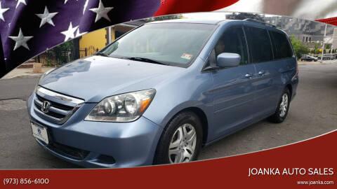 2007 Honda Odyssey for sale at JOANKA AUTO SALES in Newark NJ