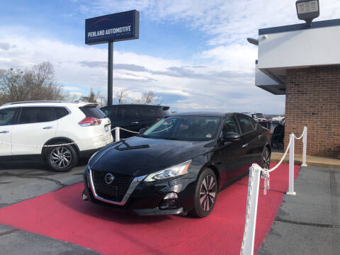 2020 Nissan Altima for sale at Penland Automotive Group in Taylors SC