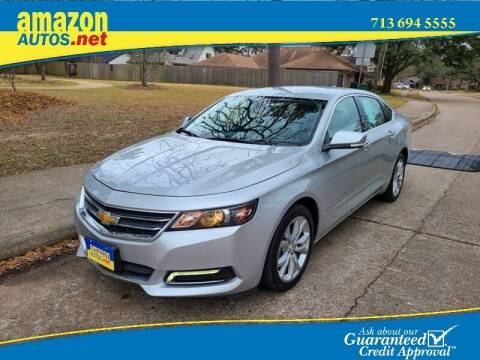 2018 Chevrolet Impala for sale at Amazon Autos in Houston TX