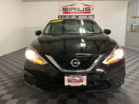 2017 Nissan Sentra for sale at SIRIUS MOTORS INC in Monroe OH
