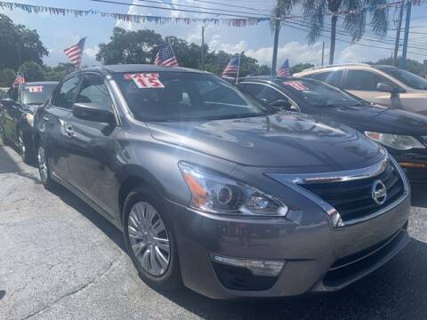 2015 Nissan Altima for sale at AUTO PROVIDER in Fort Lauderdale FL