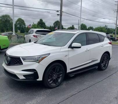 2019 Acura RDX for sale at Tim Short Auto Mall in Corbin KY