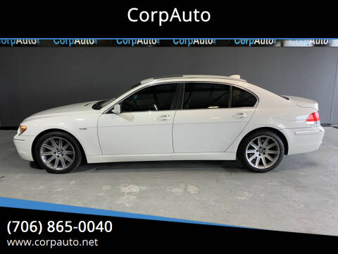 2006 BMW 7 Series for sale at CorpAuto in Cleveland GA