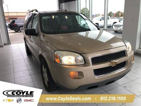 2006 Chevrolet Uplander for sale at COYLE GM - COYLE NISSAN - New Inventory in Clarksville IN