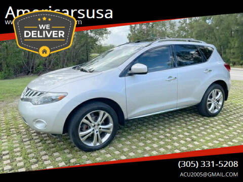 2010 Nissan Murano for sale at Americarsusa in Hollywood FL