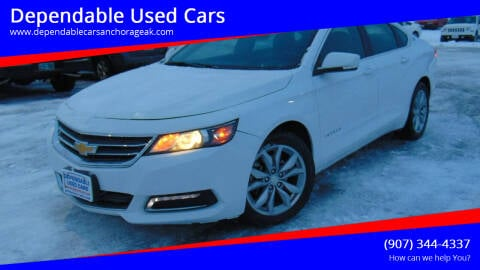 2018 Chevrolet Impala for sale at Dependable Used Cars in Anchorage AK