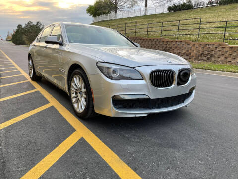 2012 BMW 7 Series for sale at BAVARIAN AUTOGROUP LLC in Kansas City MO