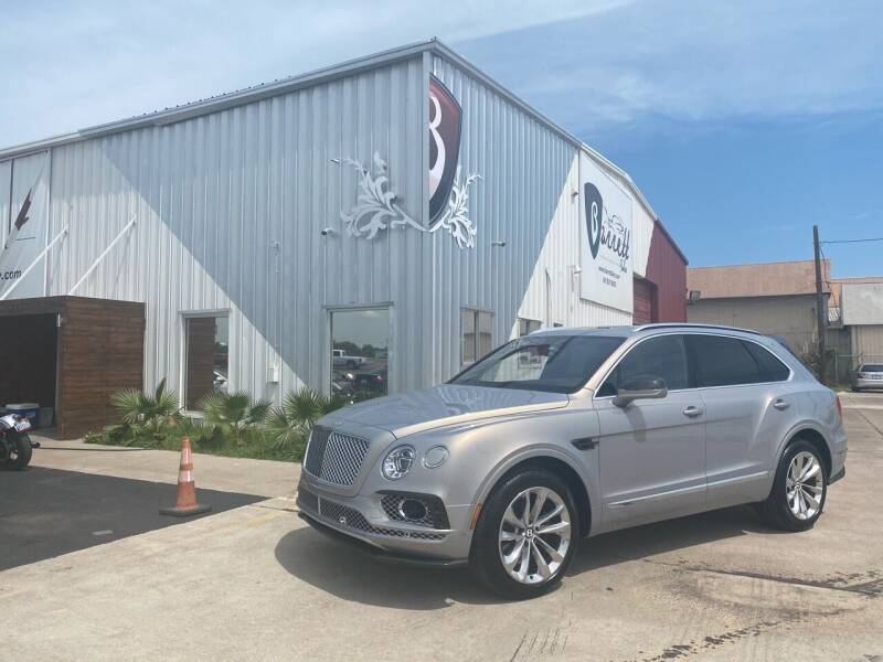 2017 Bentley Bentayga for sale at Barrett Auto Gallery in San Juan TX