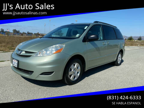 2007 Toyota Sienna for sale at JJ's Auto Sales in Salinas CA