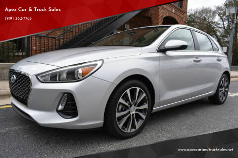 2018 Hyundai Elantra GT for sale at Apex Car & Truck Sales in Apex NC