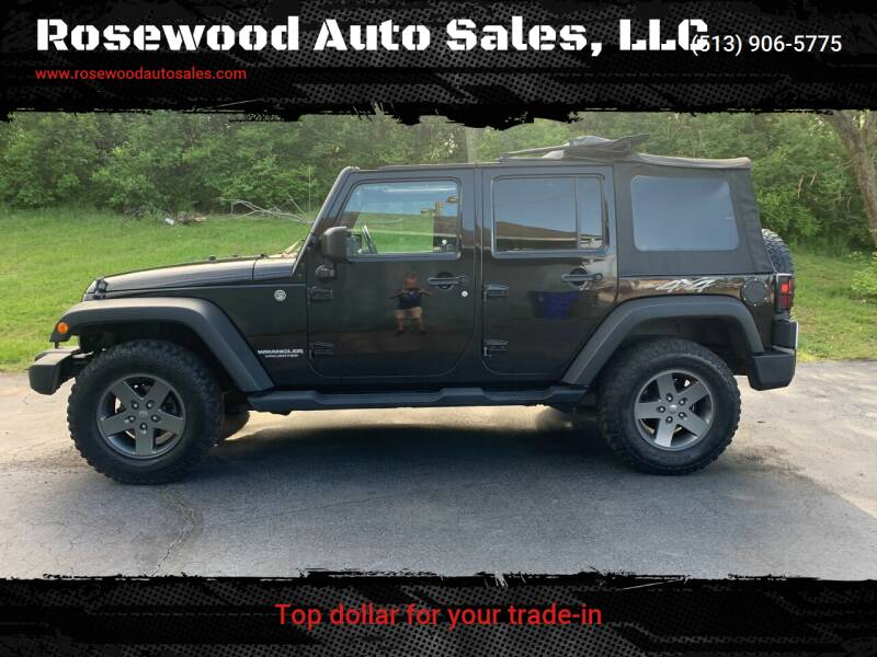 2010 Jeep Wrangler Unlimited for sale at Rosewood Auto Sales, LLC in Hamilton OH