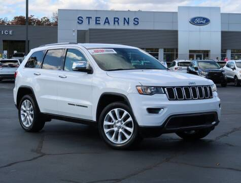 2017 Jeep Grand Cherokee for sale at Stearns Ford in Burlington NC