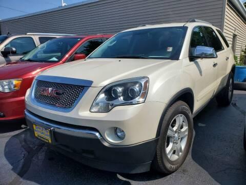 2012 GMC Acadia for sale at Appleton Motorcars Sales & Service in Appleton WI