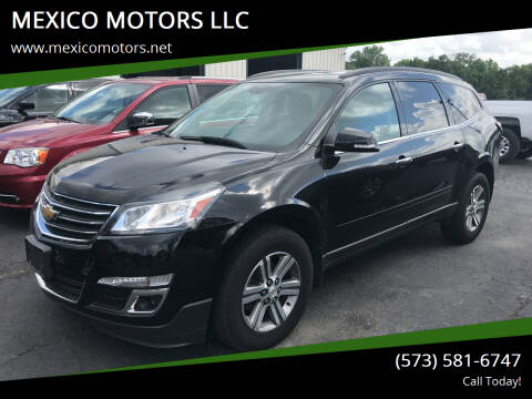 2016 Chevrolet Traverse for sale at MEXICO MOTORS LLC in Mexico MO
