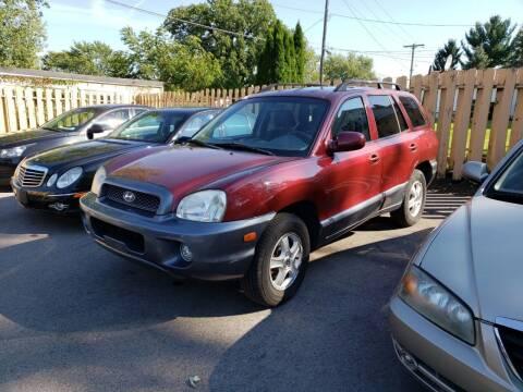 2004 Hyundai Santa Fe for sale at TL Motors LLC in Hartford WI