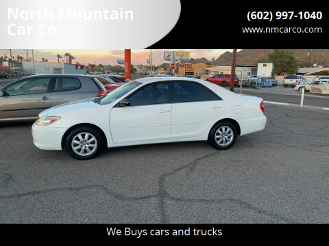 2004 Toyota Camry for sale at North Mountain Car Co in Phoenix AZ