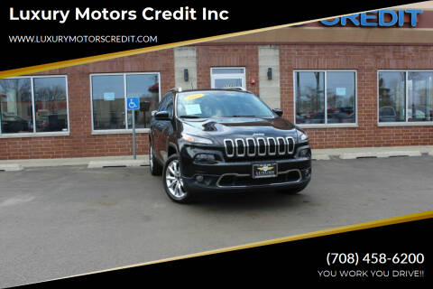 2015 Jeep Cherokee for sale at Luxury Motors Credit Inc in Bridgeview IL